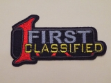 "Nažehlovačka ""FIRST CLASSIFIED"""