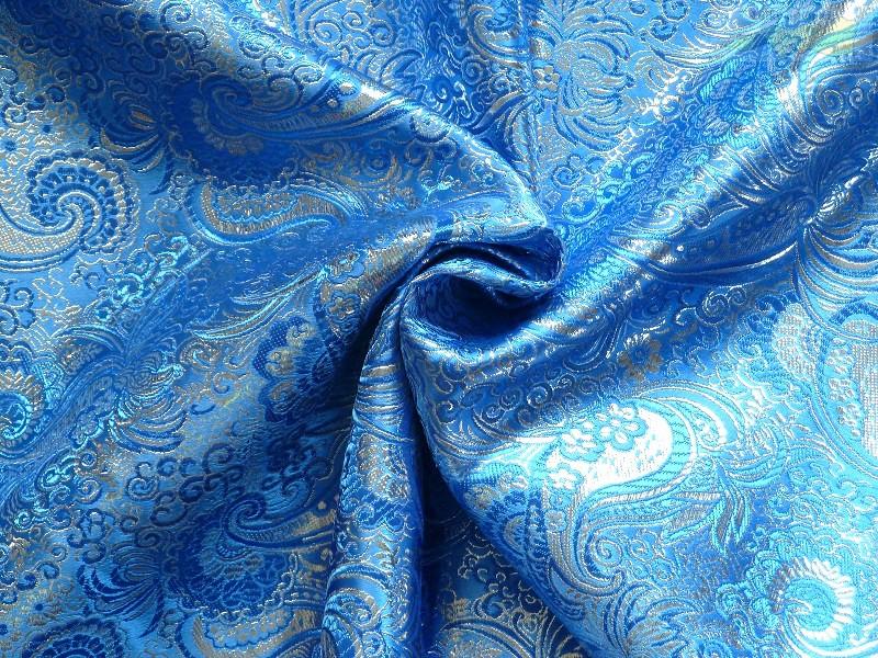 47f5501ab Brokát modrý